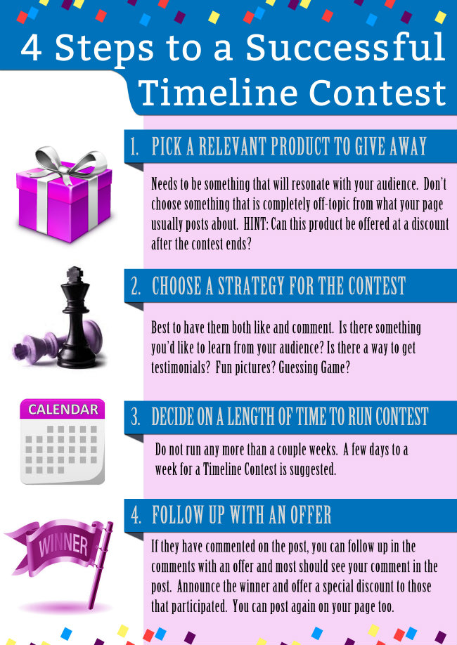 Infographic: How To Use Facebook Timeline for Marketing Contests