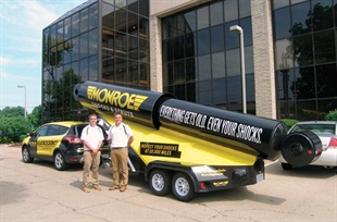 Tenneco's Monroe brand launching mobile marketing tour