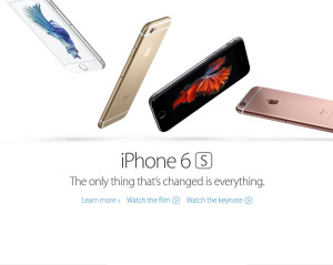 Apple Unveils iPhone 6s, World's 'Most Advanced' Smartphone