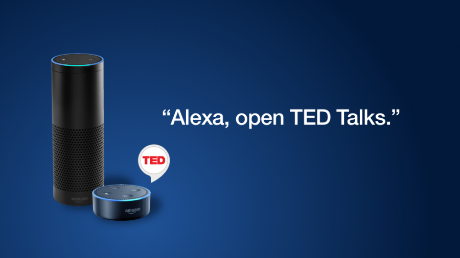 """Alexa, open TED Talks"""